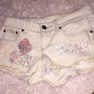 patched shorts!!!
